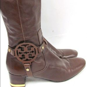 Tory Burch Riding Boots Size 9